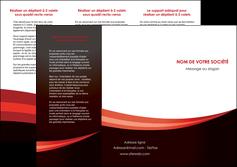 modele depliant 3 volets  6 pages  web design texture contexture structure MLGI87615