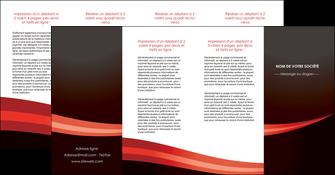 modele en ligne depliant 4 volets  8 pages  web design texture contexture structure MLGI87637