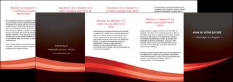 exemple depliant 4 volets  8 pages  web design texture contexture structure MLGI87639
