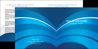 personnaliser maquette depliant 2 volets  4 pages  texture contexture structure MIF87861