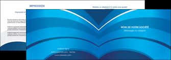 impression depliant 2 volets  4 pages  texture contexture structure MIF87875