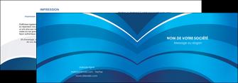 exemple depliant 2 volets  4 pages  texture contexture structure MIF87877