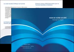 modele en ligne depliant 2 volets  4 pages  texture contexture structure MIF87885