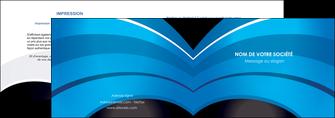 imprimerie depliant 2 volets  4 pages  texture contexture structure MLGI88085