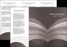 imprimerie depliant 3 volets  6 pages  web design texture contexture structure MLGI88117