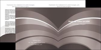 imprimer depliant 2 volets  4 pages  web design texture contexture structure MLGI88121