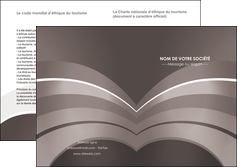 imprimerie depliant 2 volets  4 pages  web design texture contexture structure MLGI88131