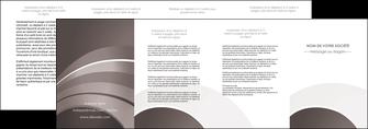 imprimerie depliant 4 volets  8 pages  web design texture contexture structure MLGI88153