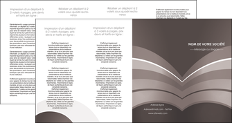 creation graphique en ligne depliant 4 volets  8 pages  web design texture contexture structure MLGI88157