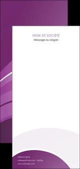 personnaliser maquette flyers web design abstrait violet violette MLGI88319