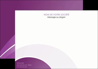 realiser affiche web design abstrait violet violette MLGI88321