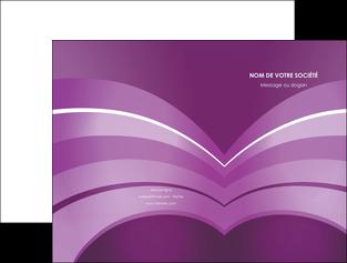 maquette en ligne a personnaliser pochette a rabat web design abstrait violet violette MLGI88347