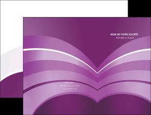 faire pochette a rabat web design abstrait violet violette MLGI88349