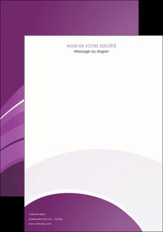 personnaliser modele de affiche web design abstrait violet violette MLGI88355
