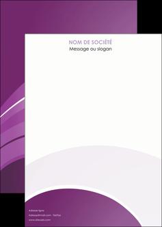maquette en ligne a personnaliser affiche web design abstrait violet violette MLGI88363
