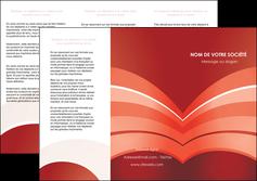 personnaliser maquette depliant 3 volets  6 pages  web design texture contexture structure MLGI88377