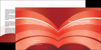 cree depliant 2 volets  4 pages  web design texture contexture structure MLGI88381