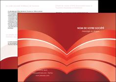 maquette en ligne a personnaliser depliant 2 volets  4 pages  web design texture contexture structure MLGI88405