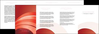 personnaliser modele de depliant 4 volets  8 pages  web design texture contexture structure MLGI88413
