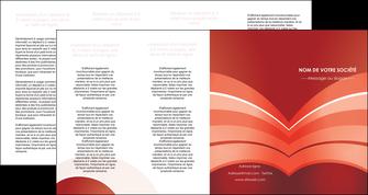 cree depliant 4 volets  8 pages  web design texture contexture structure MLGI88417