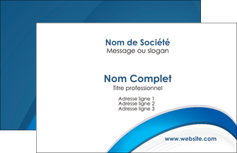 Commander Carte de visite papier de création Web Design modèle graphique pour devis d'imprimeur Carte de Visite - Paysage