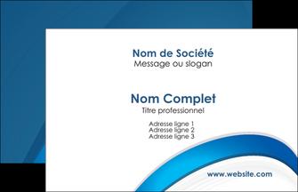 Commander Carte de visite Web Design cartedevisite Carte de Visite - Paysage