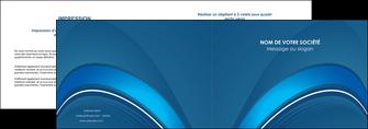 modele depliant 2 volets  4 pages  web design texture contexture structure MLGI88751