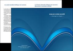 imprimer depliant 2 volets  4 pages  web design texture contexture structure MLGI88773