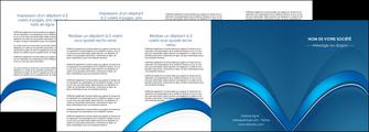 impression depliant 4 volets  8 pages  web design texture contexture structure MLGI88777