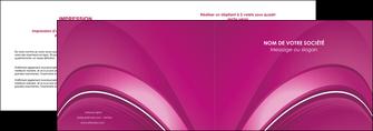 exemple depliant 2 volets  4 pages  web design texture contexture structure MLIG88855