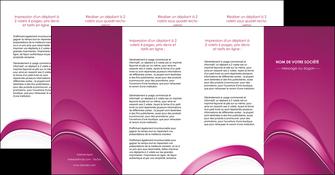 realiser depliant 4 volets  8 pages  web design texture contexture structure MLIG88885