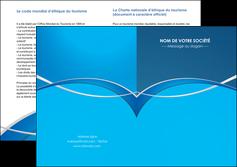 faire modele a imprimer depliant 2 volets  4 pages  web design texture contexture structure MLGI88963