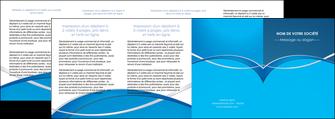 faire modele a imprimer depliant 4 volets  8 pages  web design texture contexture structure MLGI88991