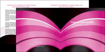maquette en ligne a personnaliser depliant 2 volets  4 pages  web design texture contexture couleurs MLIG89005