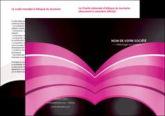 imprimerie depliant 2 volets  4 pages  web design texture contexture couleurs MLGI89015