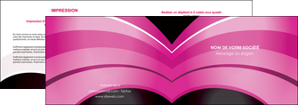exemple depliant 2 volets  4 pages  web design texture contexture couleurs MLGI89019