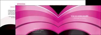 imprimer depliant 2 volets  4 pages  web design texture contexture couleurs MLIG89021