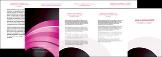 modele depliant 4 volets  8 pages  web design texture contexture couleurs MLGI89037