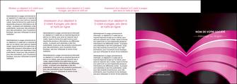 imprimer depliant 4 volets  8 pages  web design texture contexture couleurs MLGI89043