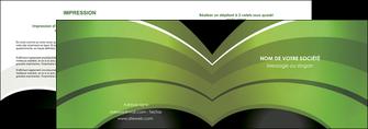 cree depliant 2 volets  4 pages  web design texture contexture structure MLGI89071