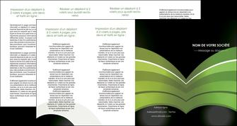 cree depliant 4 volets  8 pages  web design texture contexture structure MLGI89093