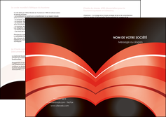 exemple depliant 2 volets  4 pages  web design abstrait abstraction arriere plan MLGI89455