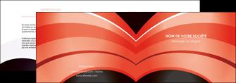 creer modele en ligne depliant 2 volets  4 pages  web design abstrait abstraction arriere plan MLGI89459