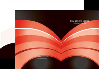 realiser pochette a rabat web design abstrait abstraction arriere plan MLGI89463