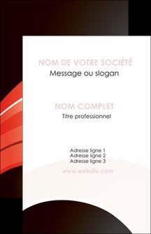 Impression carte visite pelliculage Web Design devis d'imprimeur publicitaire professionnel Carte de visite - Portrait