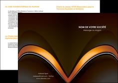modele depliant 2 volets  4 pages  web design texture contexture structure MLGI89491