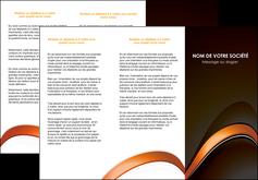 faire depliant 3 volets  6 pages  web design texture contexture structure MLGI89511