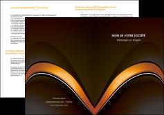 imprimer depliant 2 volets  4 pages  web design texture contexture structure MLGI89525