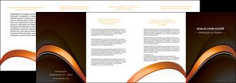 modele en ligne depliant 4 volets  8 pages  web design texture contexture structure MLGI89527