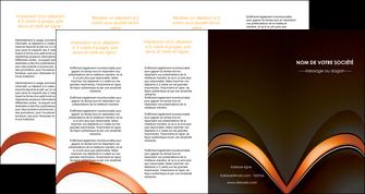 imprimer depliant 4 volets  8 pages  web design texture contexture structure MLGI89531